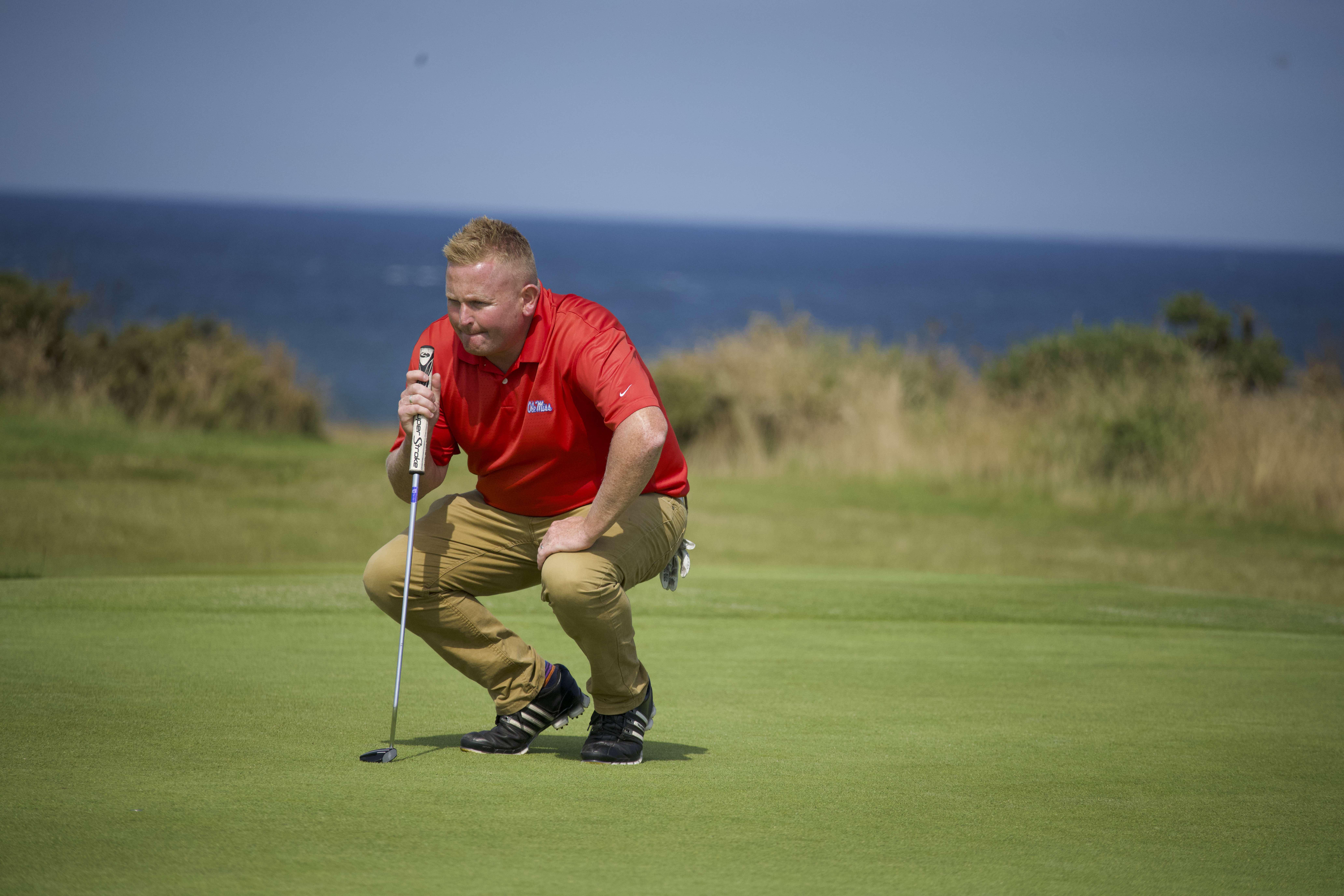 Former Scottish Amateur champion and tour professional Callum Macaulay.