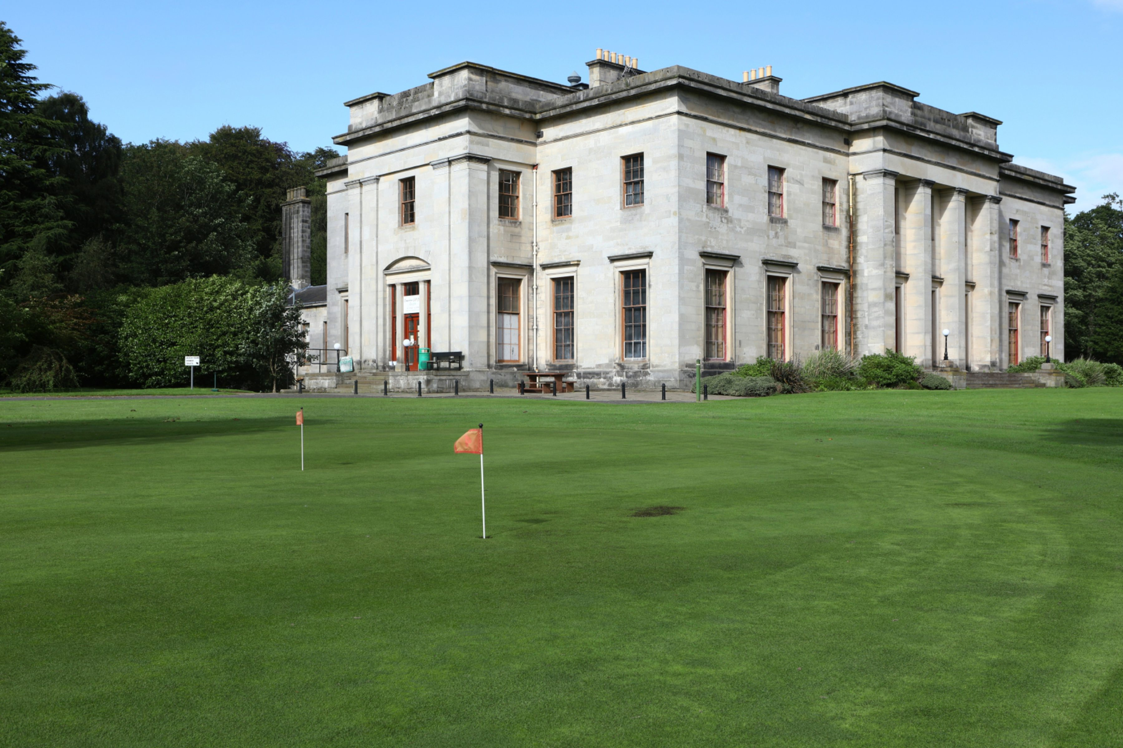 Camperdown Golf Course where Gallacher and Shade started their round in 1975.