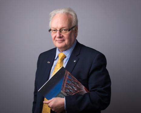 Councillor David MacDiarmid.