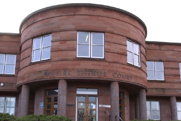 Falkirk Sheriff Court.