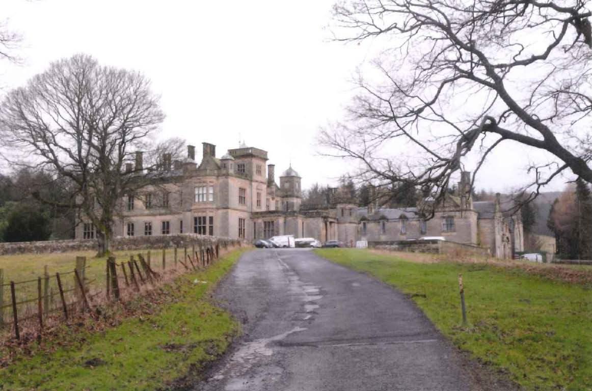 The former St Ninian's School at Falkland