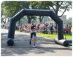 Derek Rae crossed the finish line first in Beveridge Park.