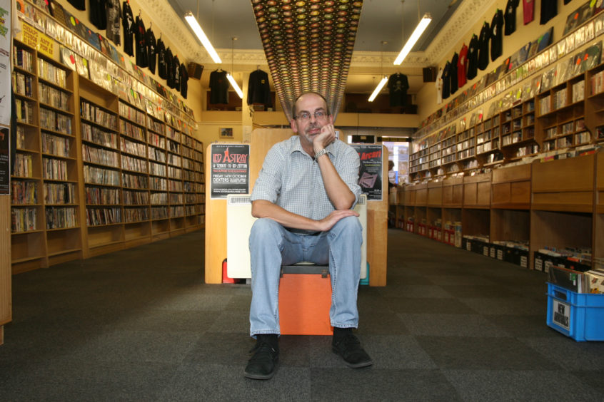 Alastair, who has passed away aged 65, was the owner of Groucho's on the Nethergate and sold vinyl records in the city for 43 years.