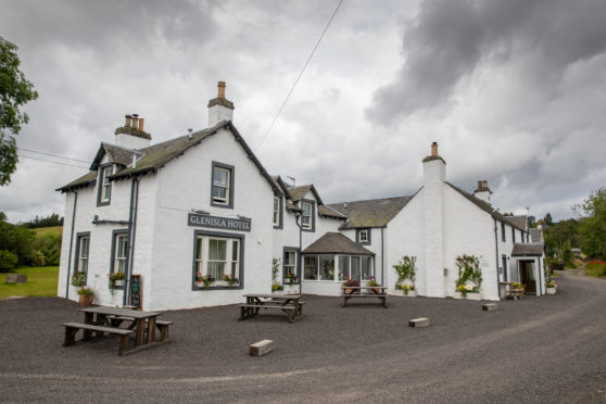 Glenisla Hotel has been closed since the start of the year.
