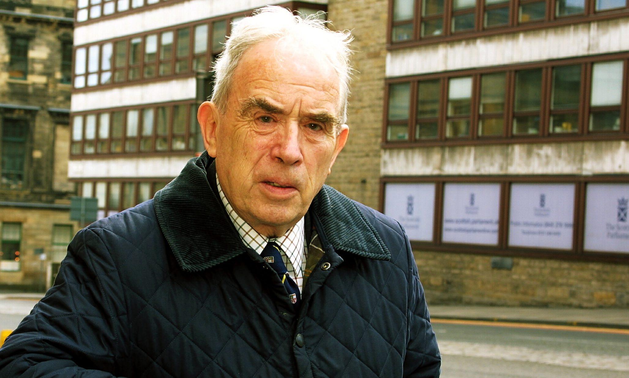 Ian Hamilton, the mastermind behind the 1950 Westminster Abbey raid