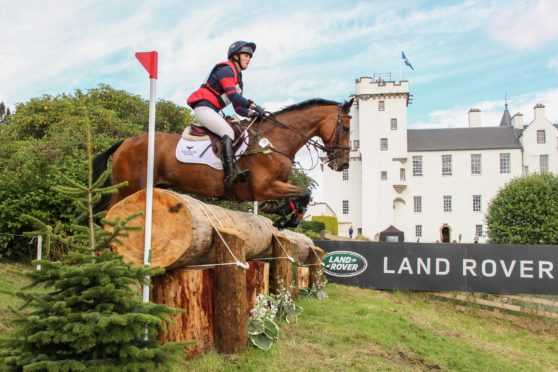 Blair Castle International Horse Trials.