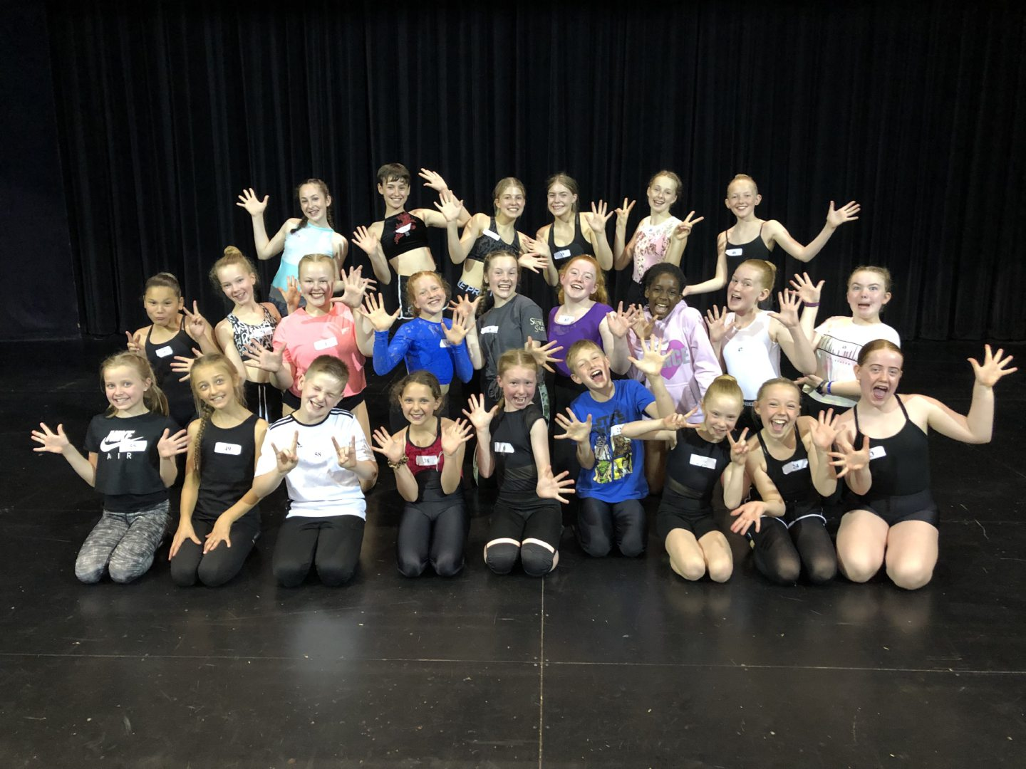 Talented kids take centre stage at Adam Smith Theatre panto auditions last year.