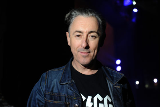 Actor Alan Cumming is a major supporter of The Birks Cinema.