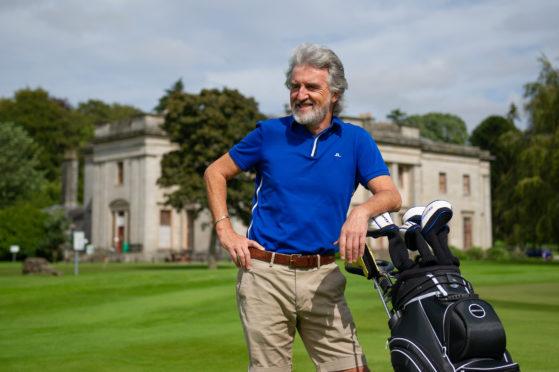 David Whyte at Camperdown Golf Club.