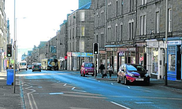 Albert Street, Dundee.