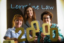Carolyn Watts - Marie Curie Healthcare Assistant, Petra McMillan - Marie Curie and Lorraine Law