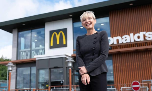 Kate Walker, who owns several McDonald's franchises.