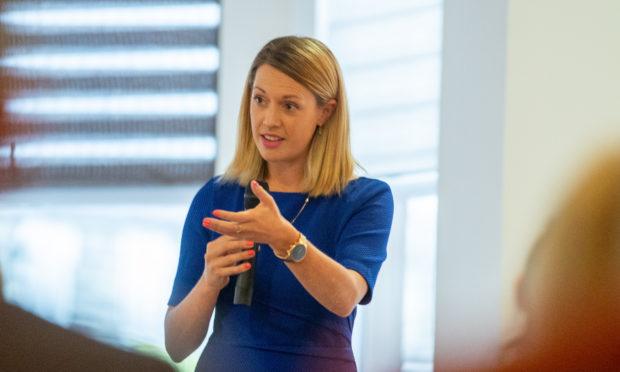 SNP MSP Jenny Gilruth.