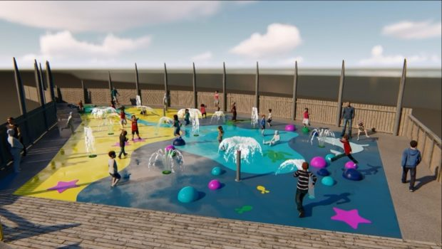 An artist's impression of how the new Splash will look.