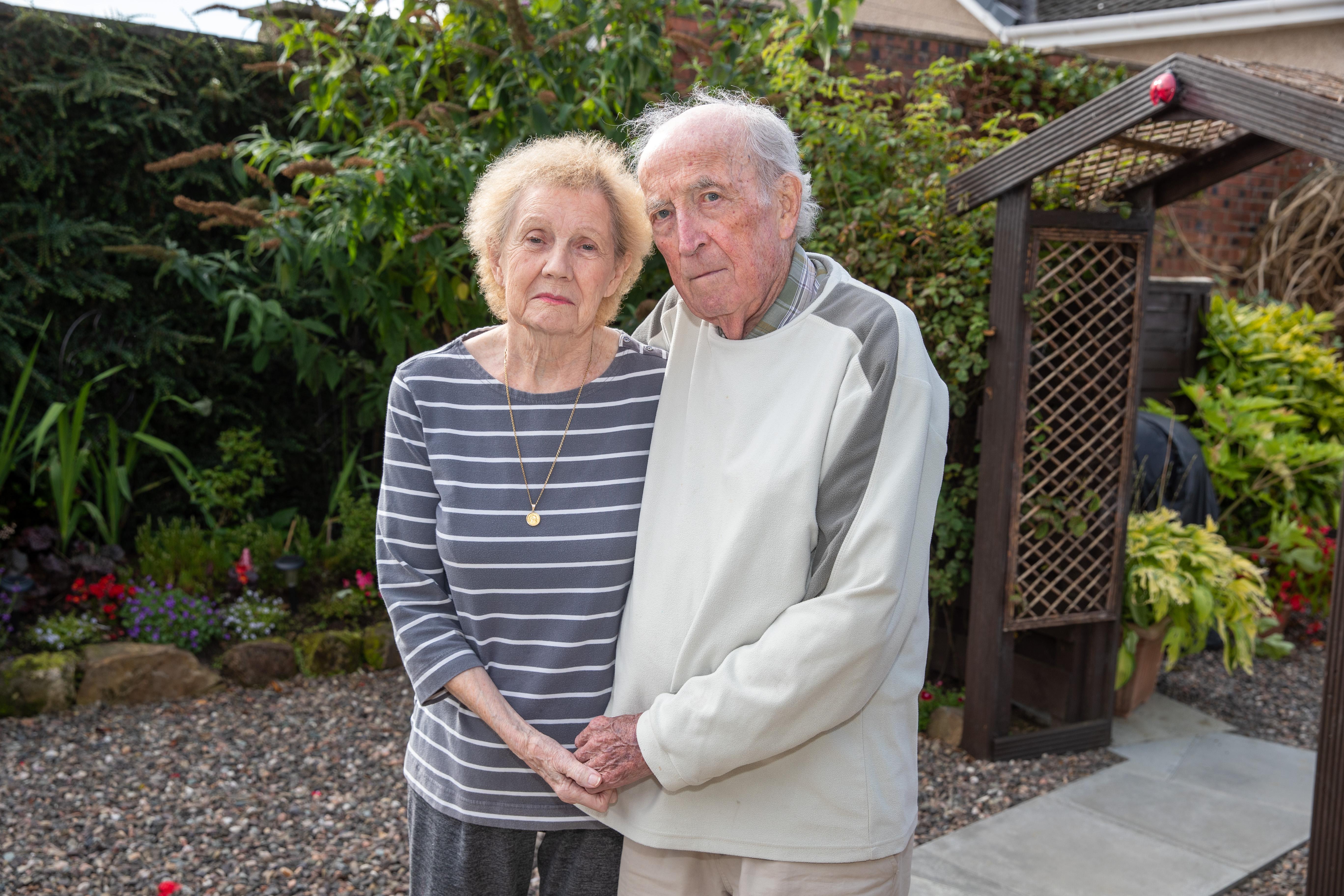 Christina Ferguson Gray and Norman Gray.