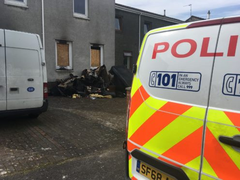 Fire swept through the house in Thorn Tree Place, Oakley in the early hours of the morning on August 24.