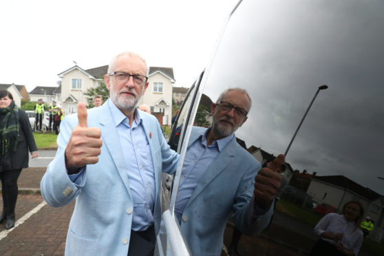 Mr Corbyn's remarks came in Dunfermline during a three-day tour of Scotland