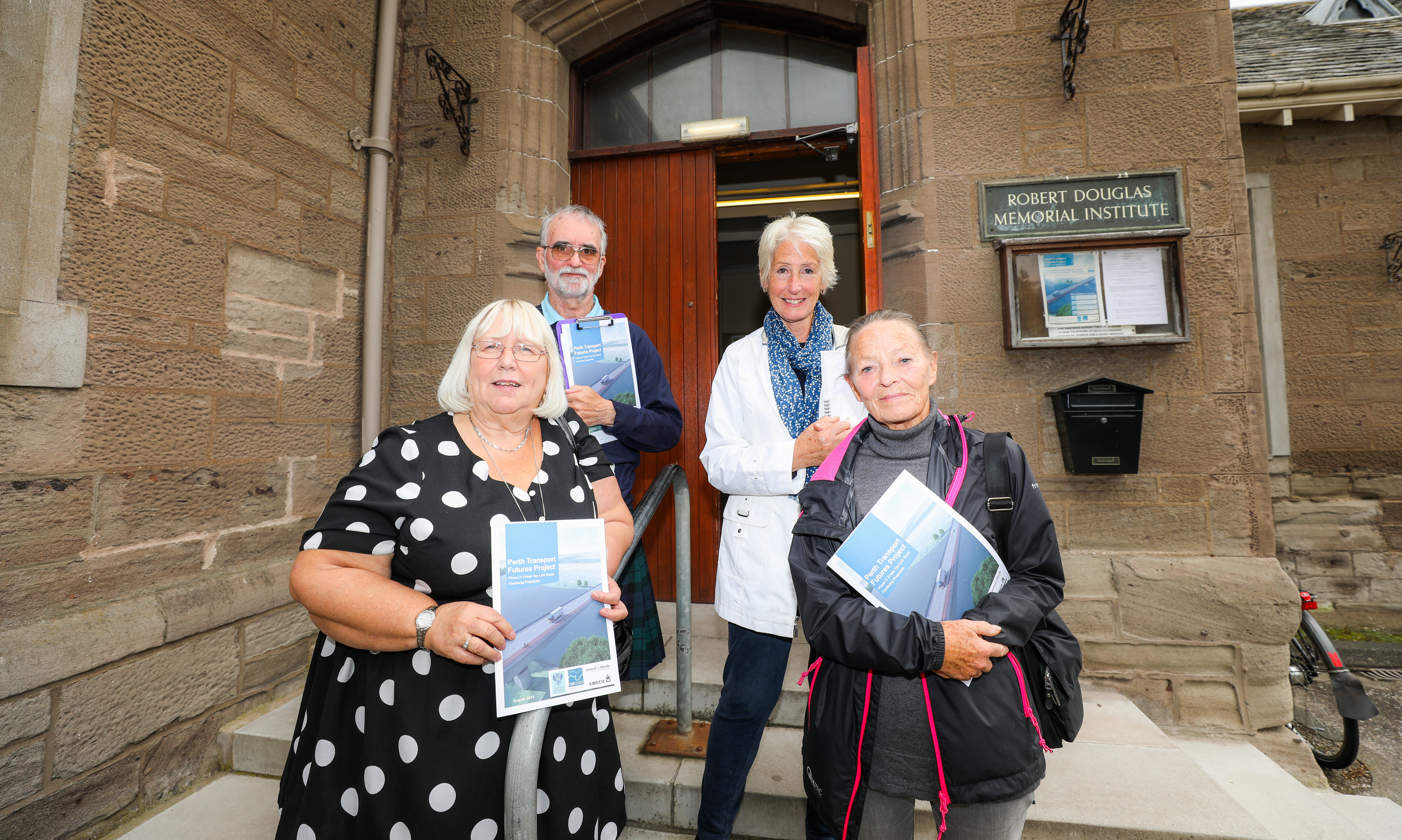 Scone Community Council members want to see the most positive outcome.