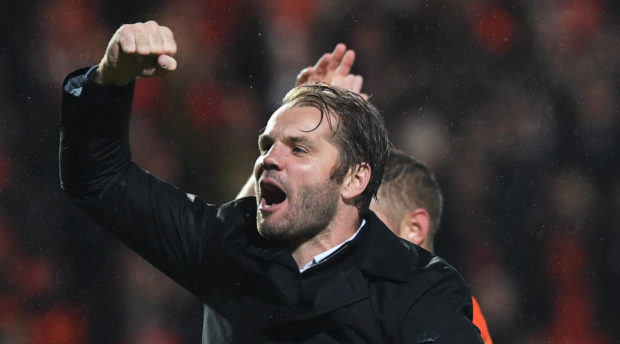Robbie Neilson after beating Dundee.