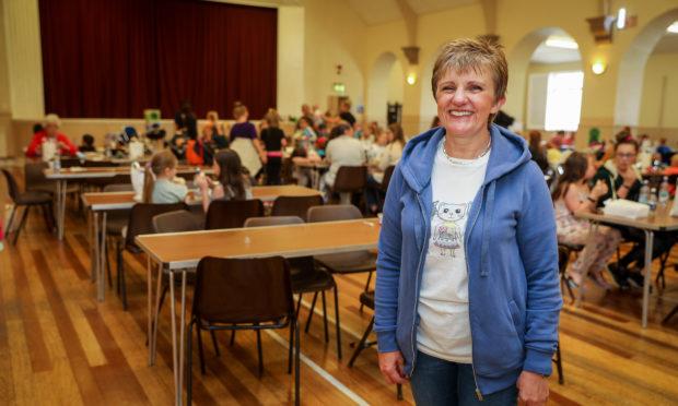 Judy Hamilton at the successful Cafe Inc in Lochgelly .