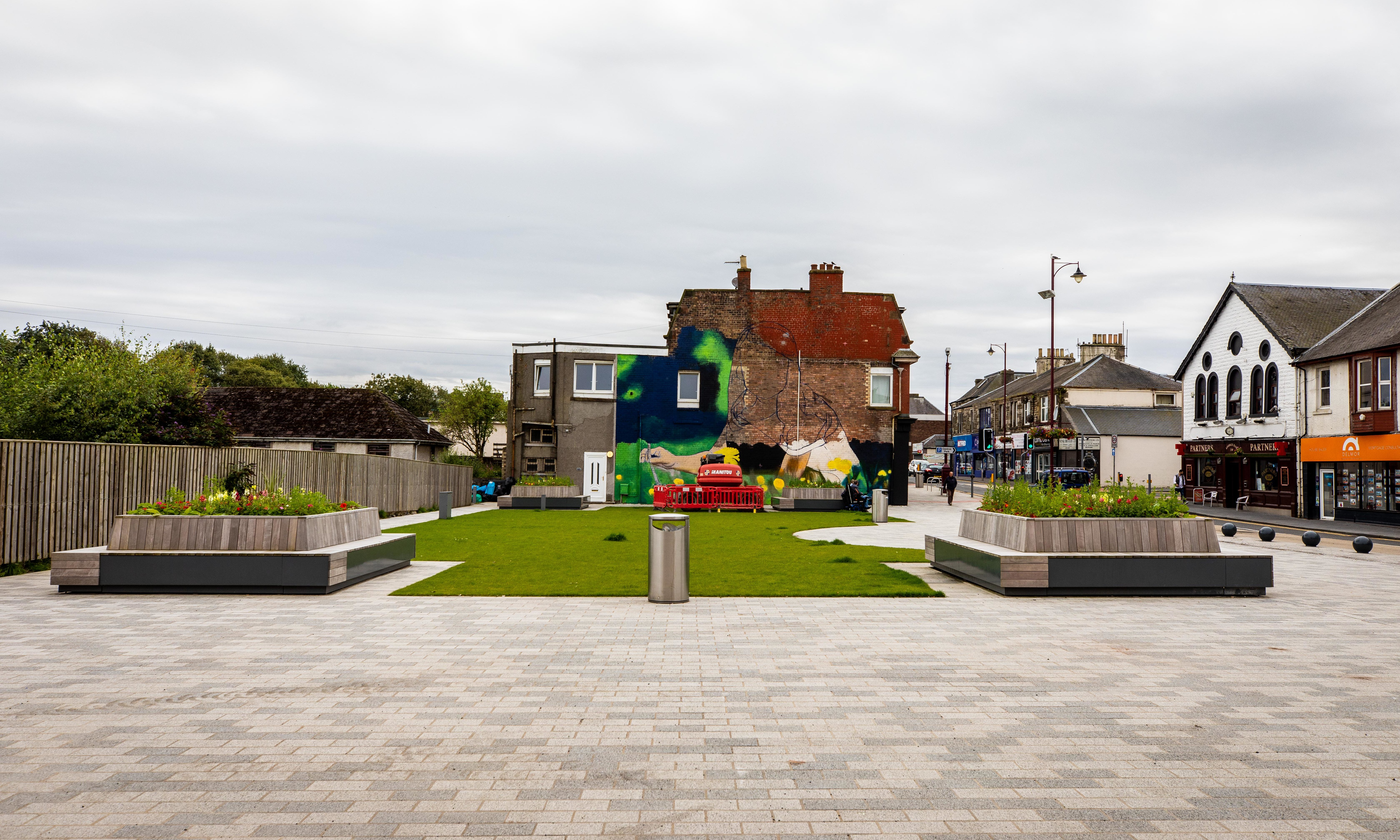 the new green square