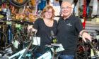 Andy & Fiona Hain of Leslie Bike Shop.