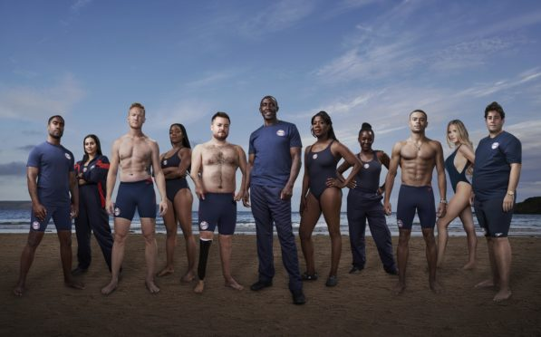 Sink or Swim for Stand Up to Cancer (copyright Channel 4).