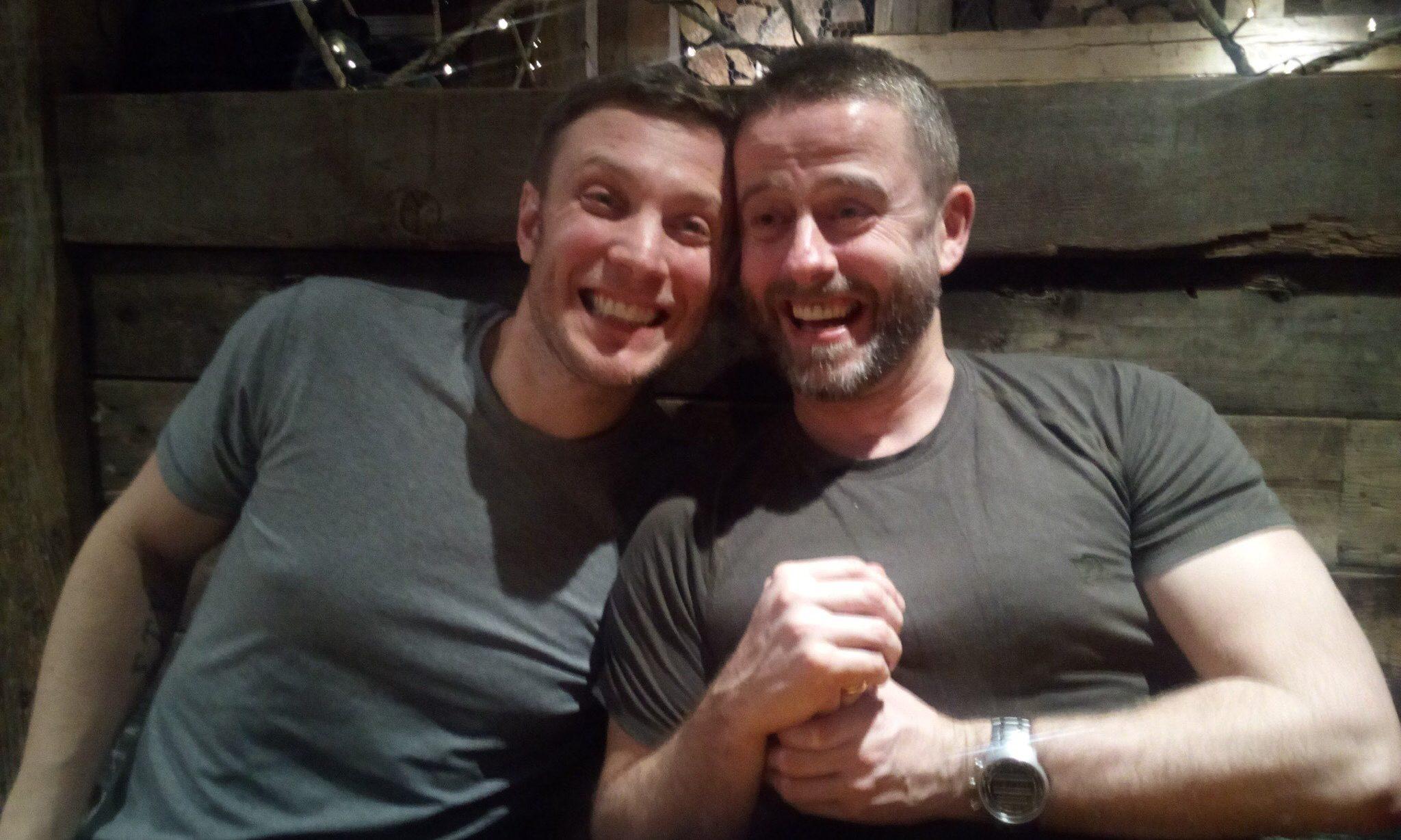 Stuart and Dougie