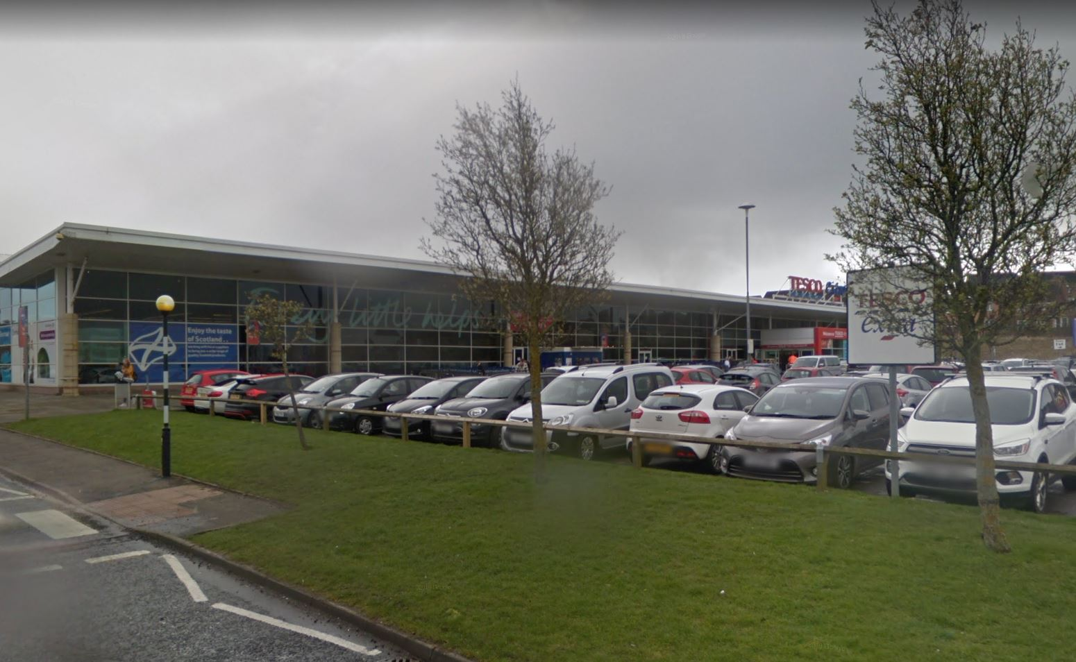 Tesco Extra in Dunfermline (stock image).