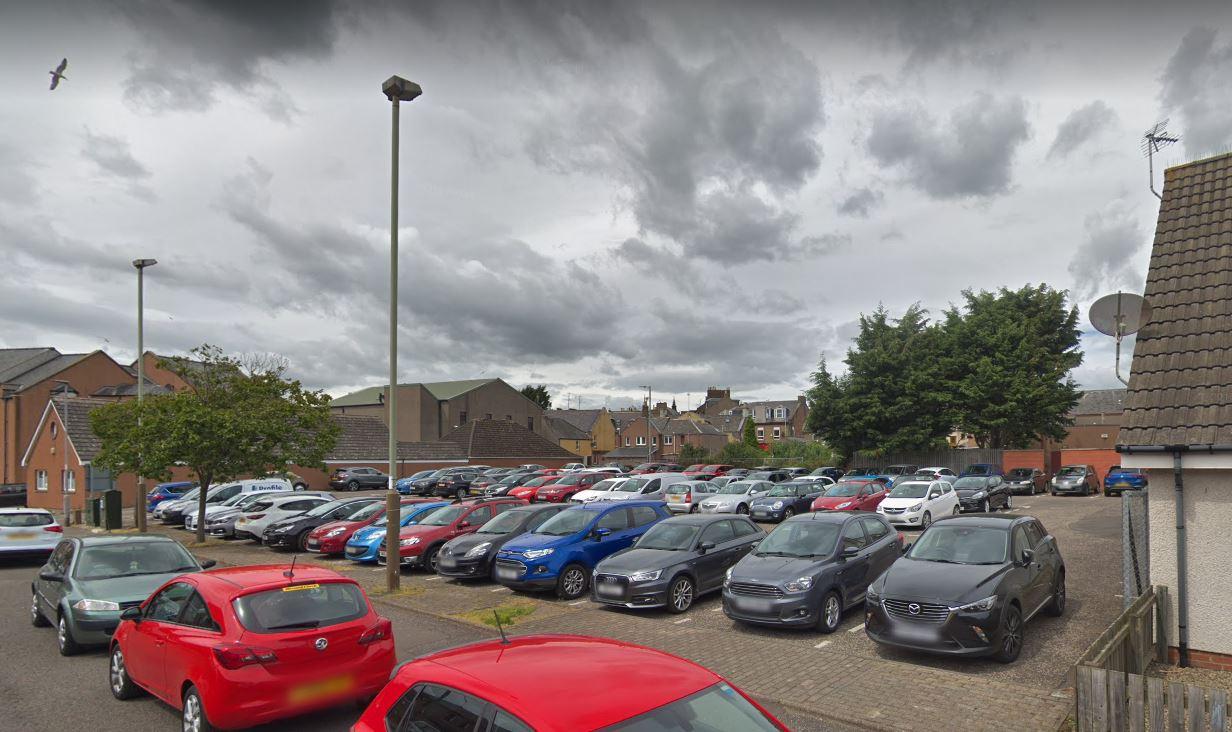 North Grimsby car park, Arbroath.