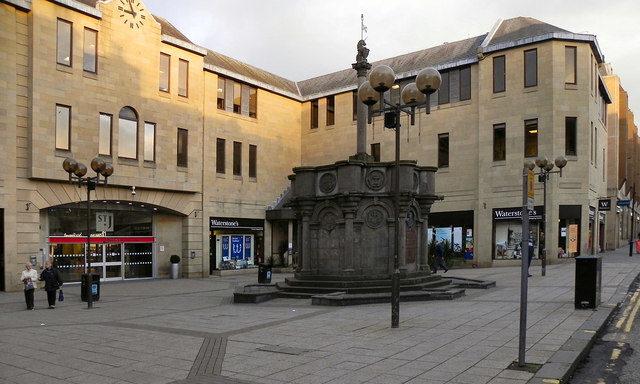 King Edward Street entrance of St John's Shopping Centre in Perth