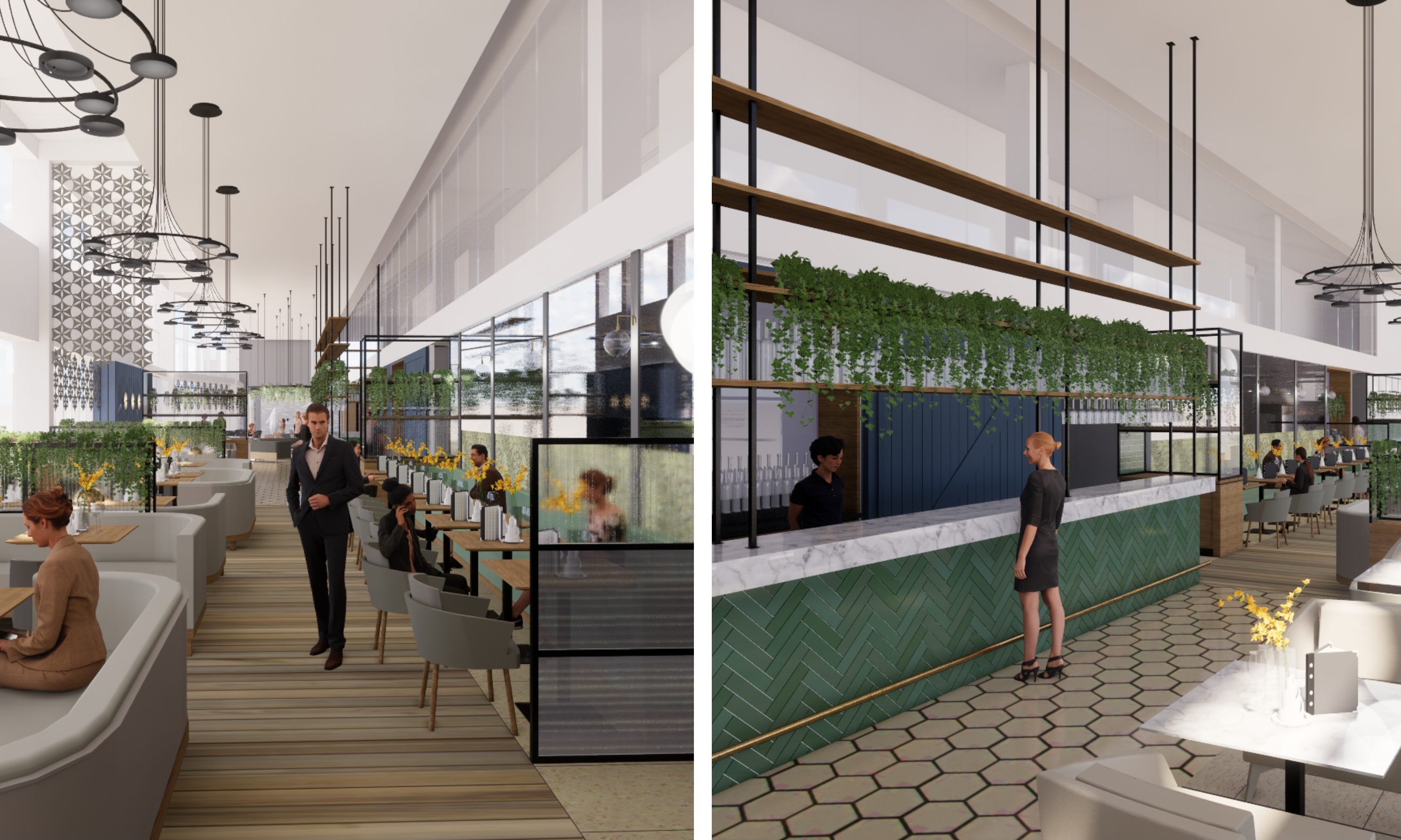 How the refurbished Apex City Quay Hotel could look.