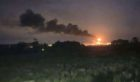 Overnight flaring at Mossmorran.