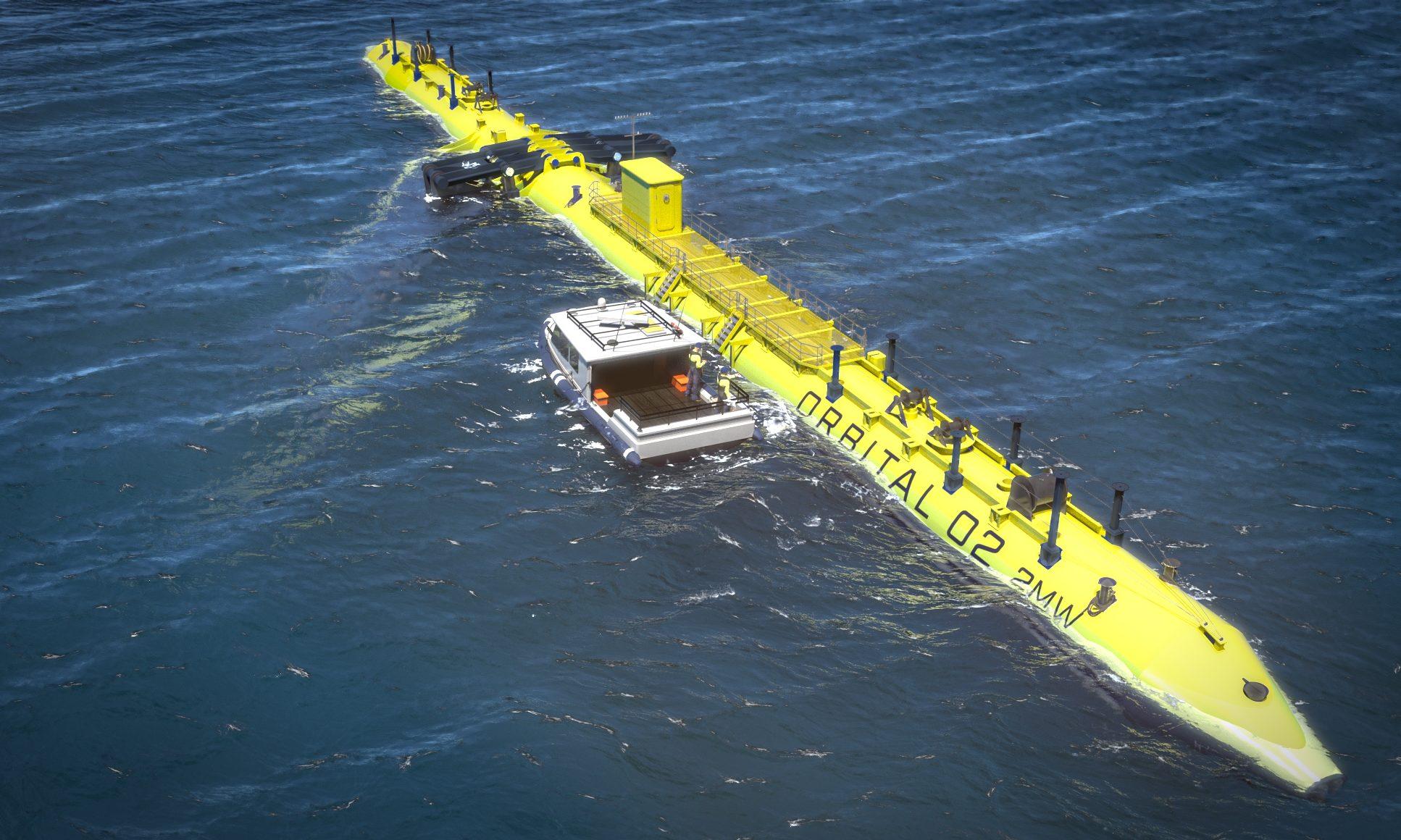 The O2 tidal turbine