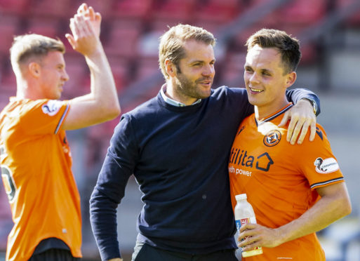 Dundee United go into the derby with a 100% league record.