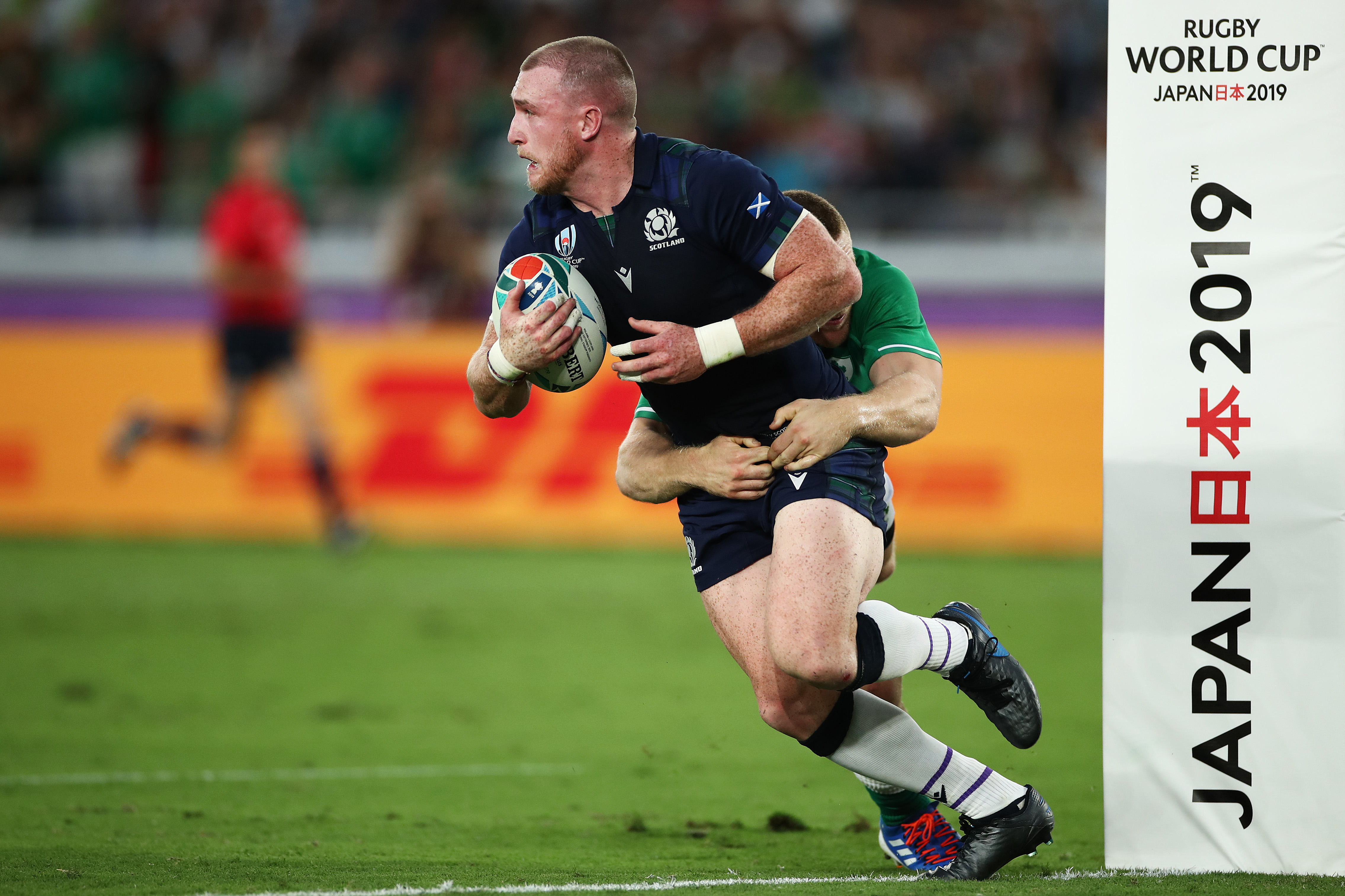 Stuart Hogg - has Scotland's best player been neutered by their kicking style.