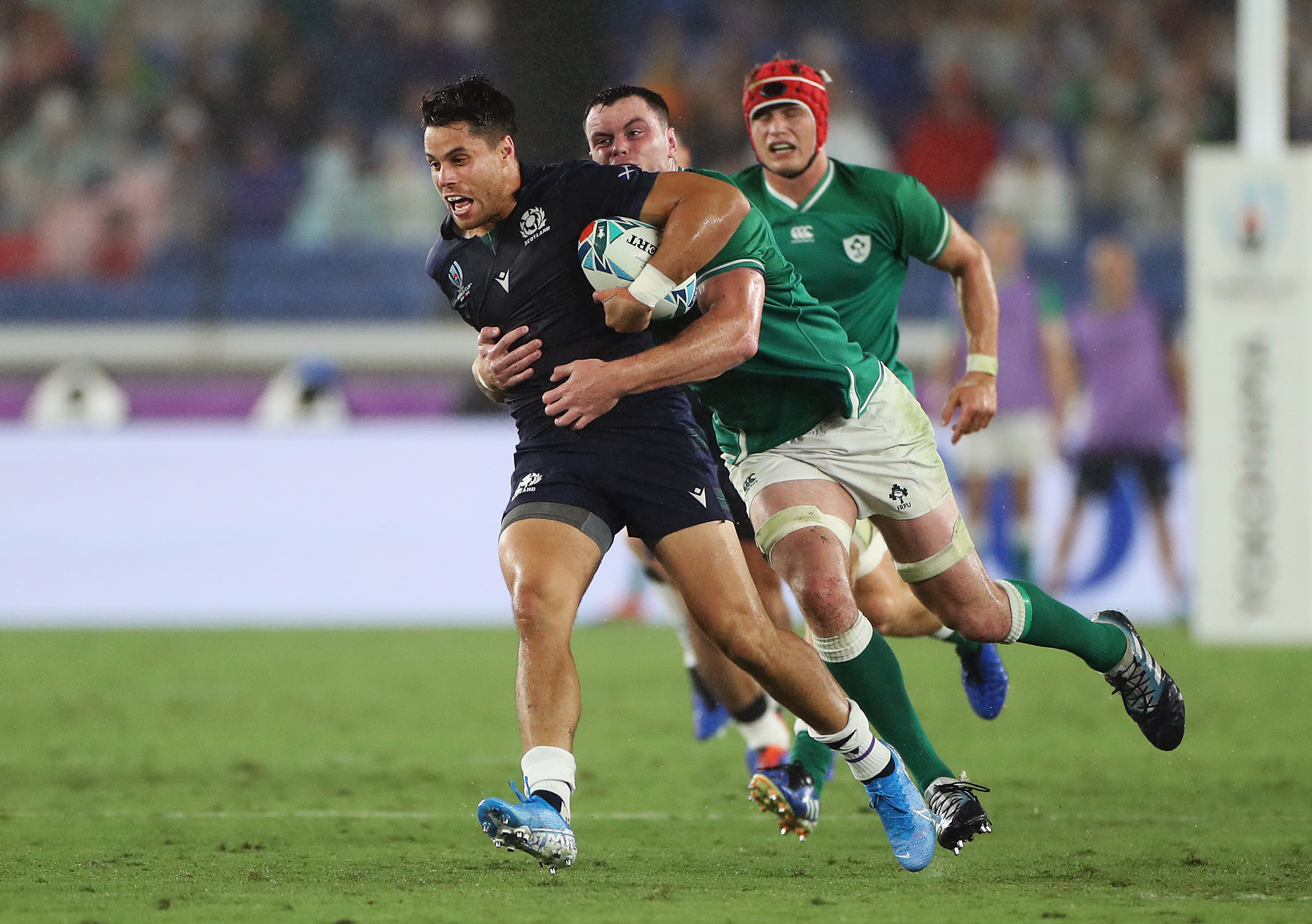 Sean Maitland is looking forward to playing his Samoan cousin in Kobe.
