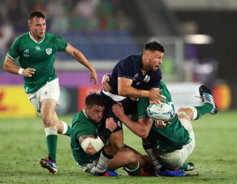 Ali Price suffered a foot injury in Scotland's defeat in Yokohama and is out of the Rugby World Cup.