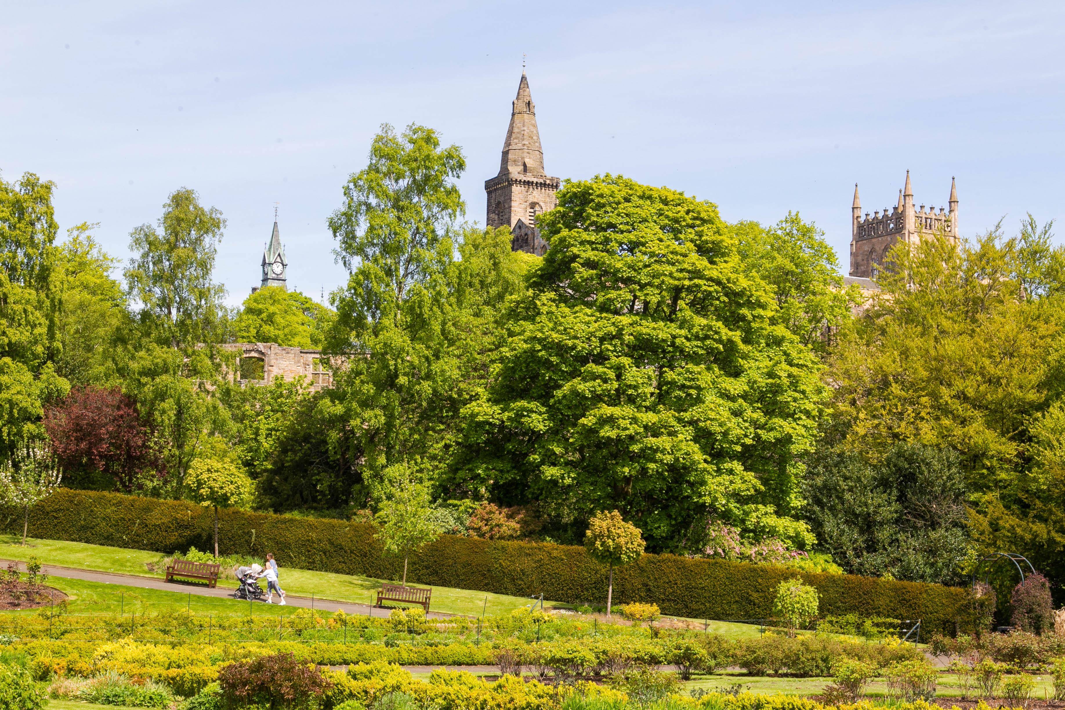 The Glen in Dunfermline was voted Scotland's best park.