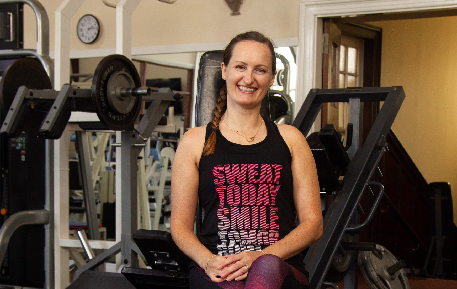 Anne now includes fitness in her daily routine after battling back to health.