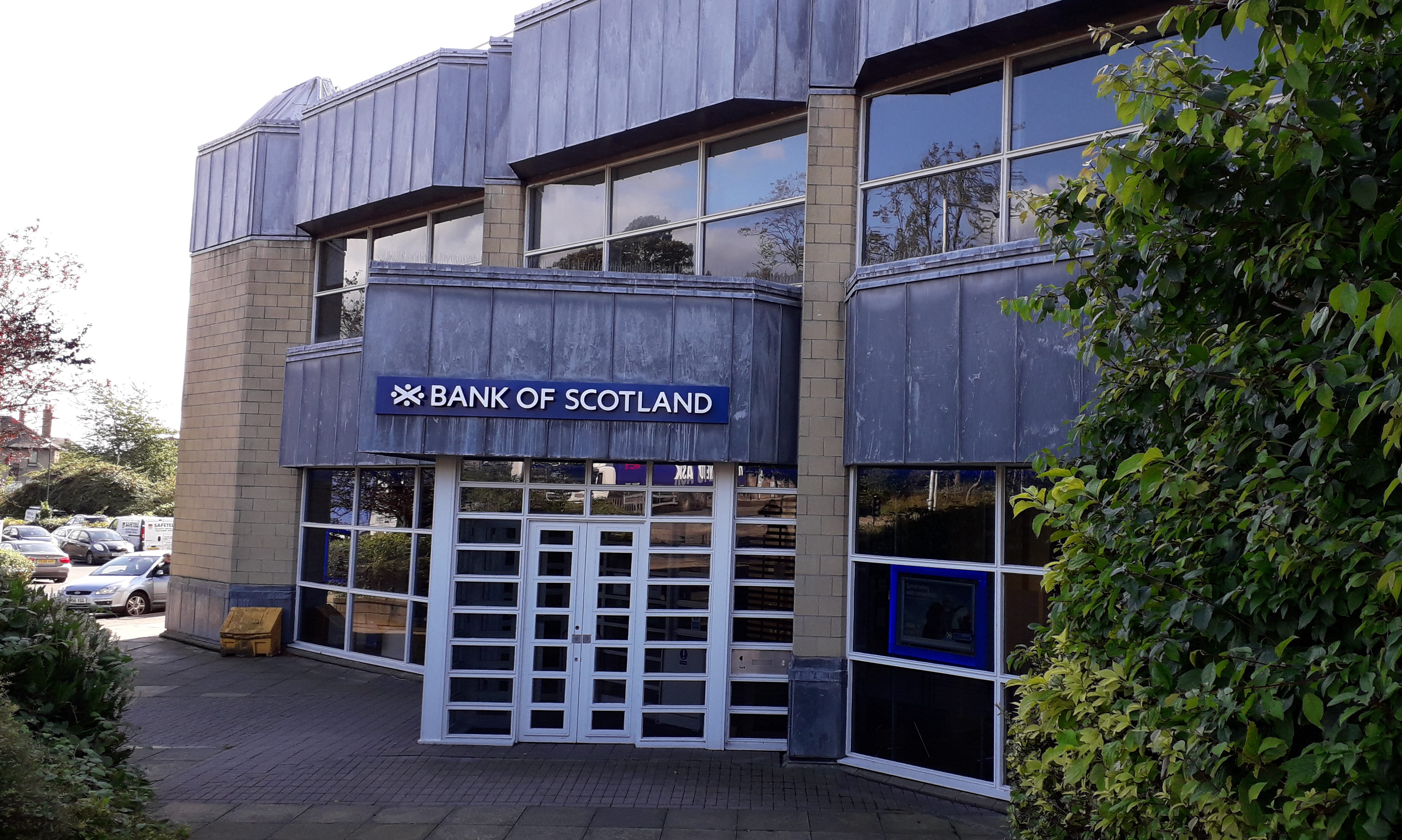 The branch of Bank of Scotland in Bothwell Street.