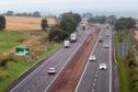 The A9 near Blackford