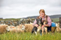 Joyce Campbell has been attacked on social media because she is a hill farmer.
