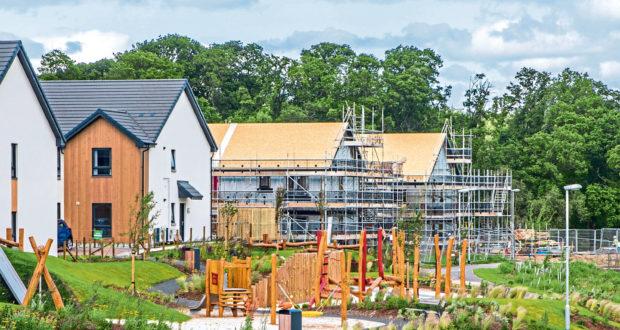 Bertha Park development by Springfield Properties Picture: Steve MacDougal.