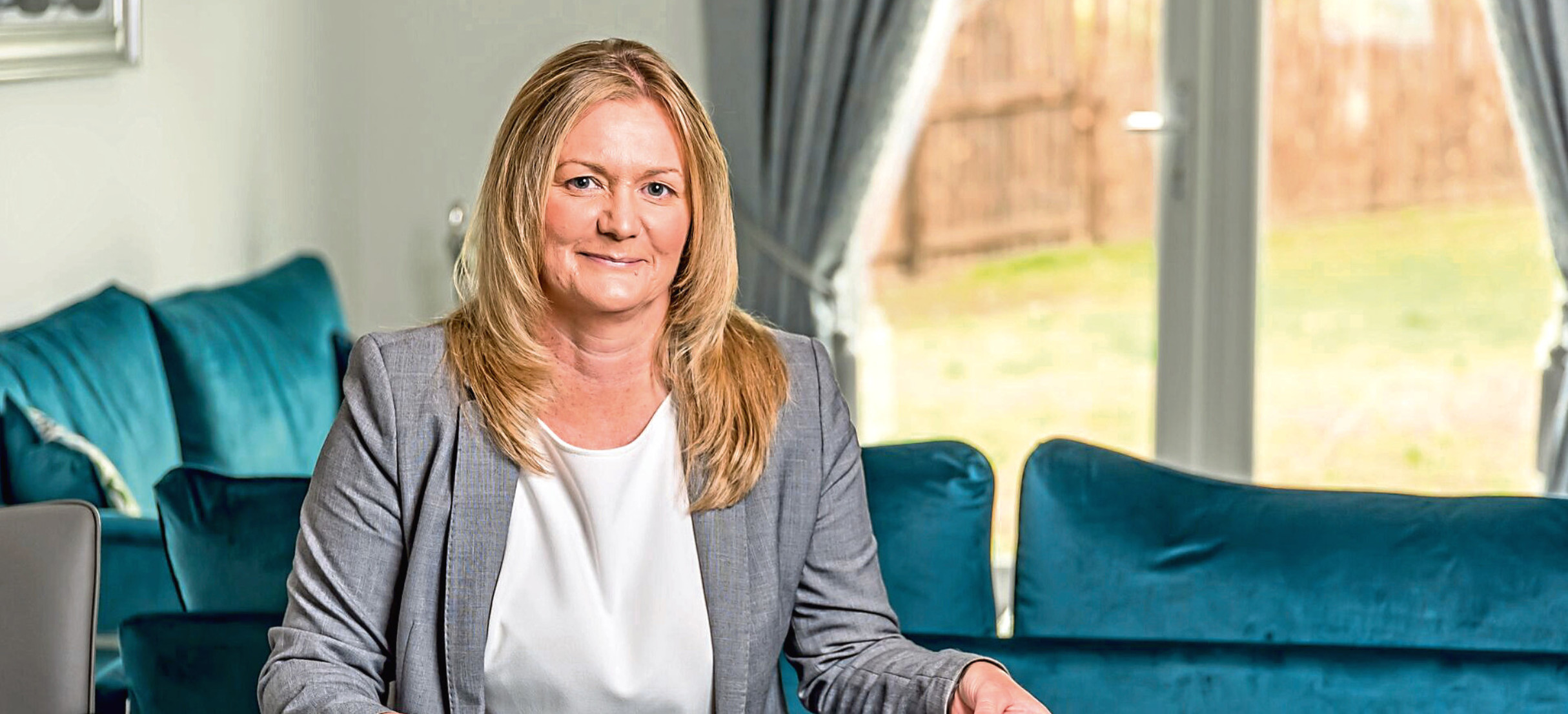 Karen Nicoll, managing director of DJ Laing Homes