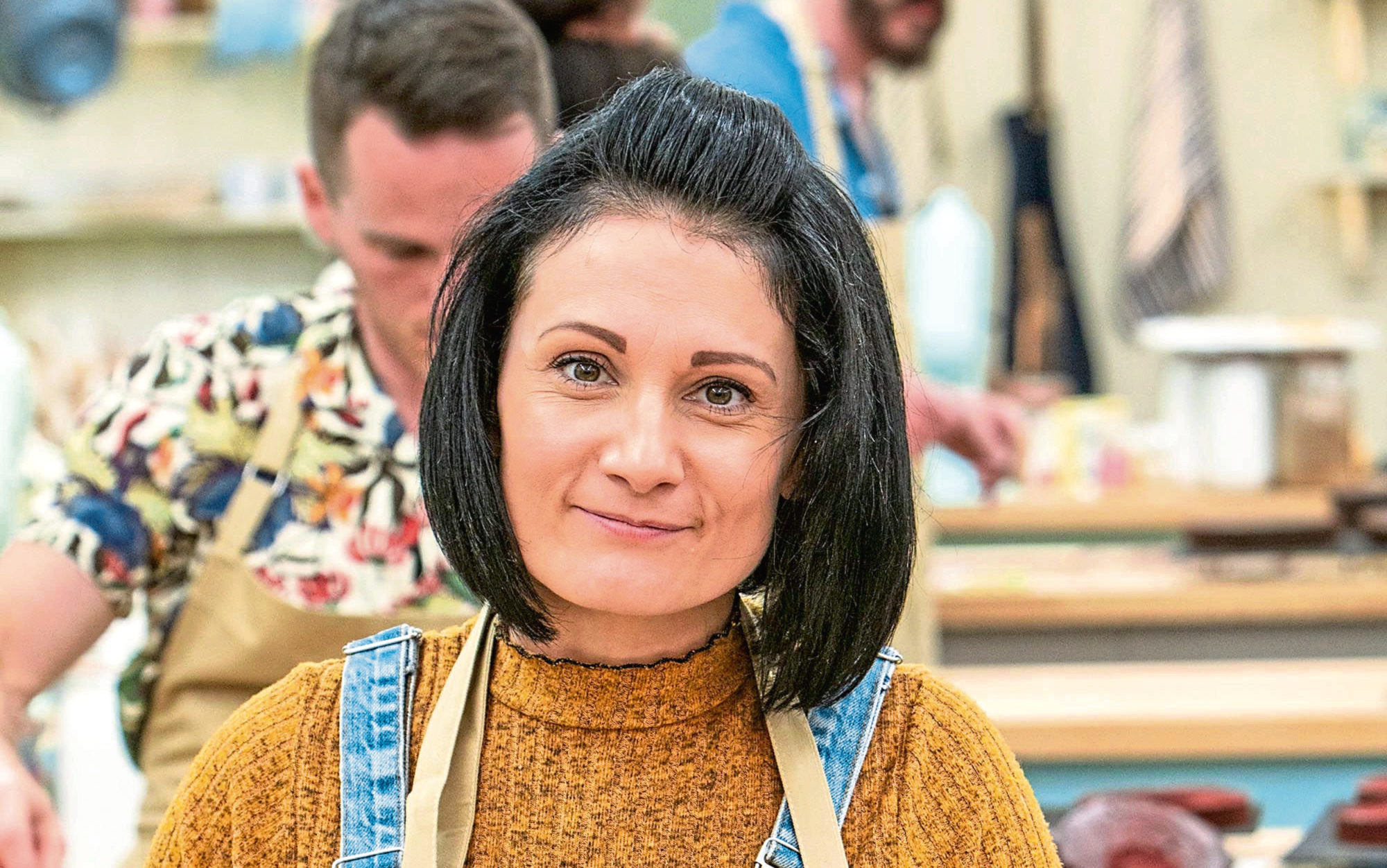 Michelle from The Great British Bake Off 2019.