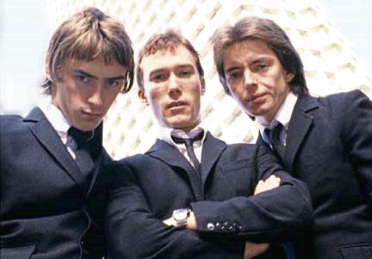The Jam:  Paul Weller, Rick Buckler and Bruce Foxton.