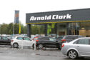 Arnold Clarks dealership on Balfield Road, Dundee.