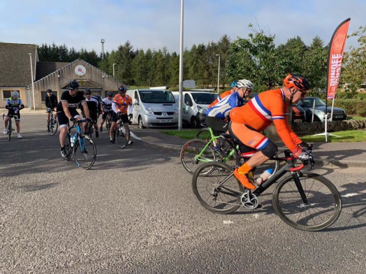 Dundee Thistle Cycling Club celebrated its 90th anniversary.