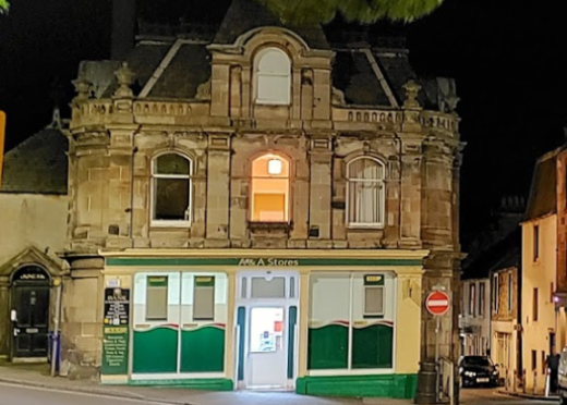 Blackwood targeted the A&A store in Anstruther.